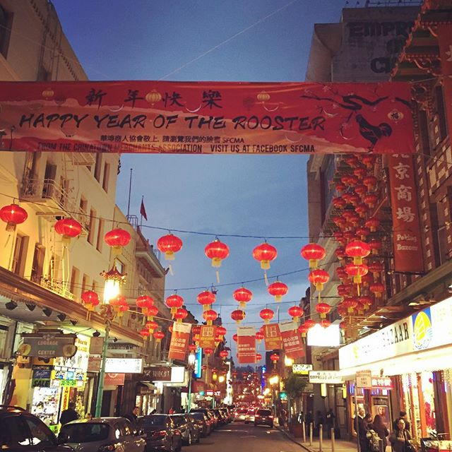 Happy year of the rooster! Chinatown has been so festive for weeks! :) #happychinesenewyear #yearoftherooster #chinese #lantern #red #china #chinatown #sanfrancisco #festive #decorations #success #luck #rooster #sign #lunarnewyear #zodiac #zodiacsigns #lunar #lights