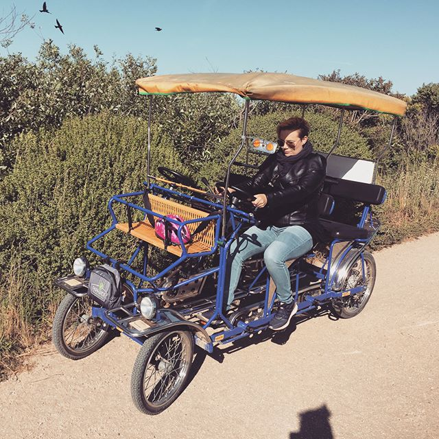 Have you tried one of these before? #Surry #ride in #sanfrancisco #fun #funthingstodo #rentabike