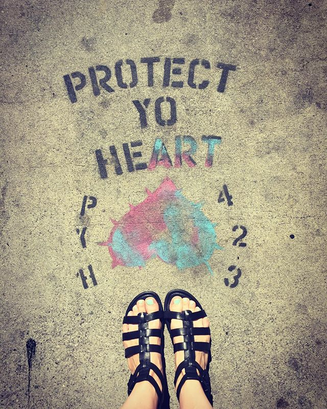 Wise words on the pavement #wisewords #losangeles