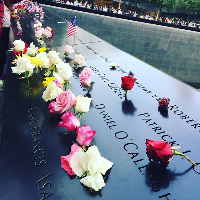 It's an emotional day for many. Promise to never forget. #honor911 #honoring #honor #911 #nineeleven #memorialday #memorial #anniversary #twotowers #wtc #worldtradecenter
