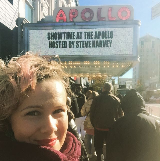 Steve Harvey is hilarious! I laughed so hard at the taping of Showtime at the Apollo today. Between each take Steve kept entertaining us and at one point he even broke out to an improvised song. Who cares that he announced the wrong winner at the Miss Universe pageant a few years back. He da man! @steveharveyfm #showtimeattheapollo #comeback #theoriginaltalentshow #fox #apollotheater @apollotheater