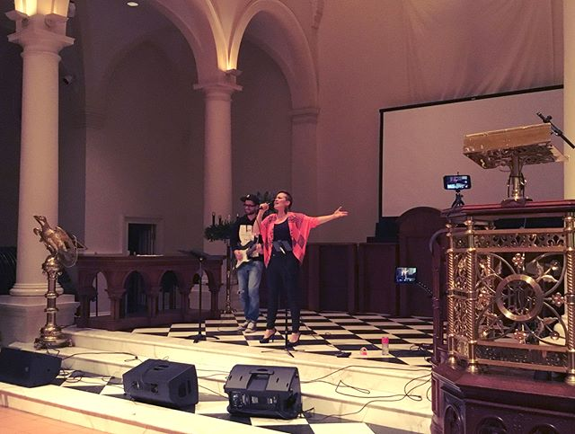 Thank you @setnyc for having us perform at the Holy Apostles theater on Saturday!
