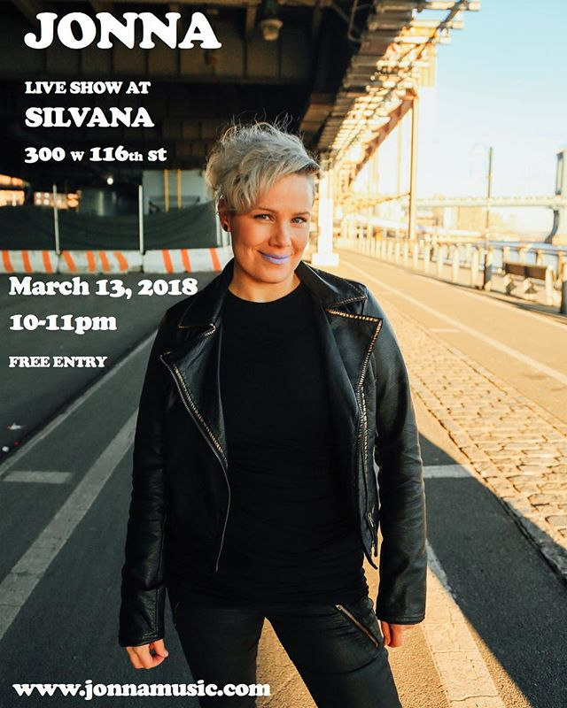 I'm so excited to announce my next gig in NYC @silvanaharlem !! It's my first gig with a band in NYC. The last time I performed material from this album with a full band was summer 2016 in Oakland. ;) Can't wait!! #livemusic #indieartist #band #musicians #live #nyc #singersongwriter #stoked #excited #mymusic #indiepop #newyorkcity #musicartist #performance #gig #freeentry #nocover #free #livemusicnyc #harlem **********Picture by @kevindonnnelly