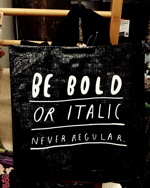 Yes yes yes!! Be bold! Do what your heart desires. Don't worry about what others think. Don't be afraid to make mistakes. Be bold. Be you! #encouragement #pickmeup #youcandoit #selfempowerment #dontbeafraid #mistakes #learning #goals #bold #fun #humor #clever #italic #regular