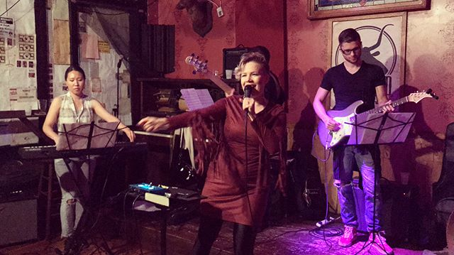 We had such a fun show @BrandedSaloon last week! Thanks for having us! And a huge thanks to those that came to support! #singersongwriter #indiemusic #nyc #brooklyn #gig #show #performance #livemusic