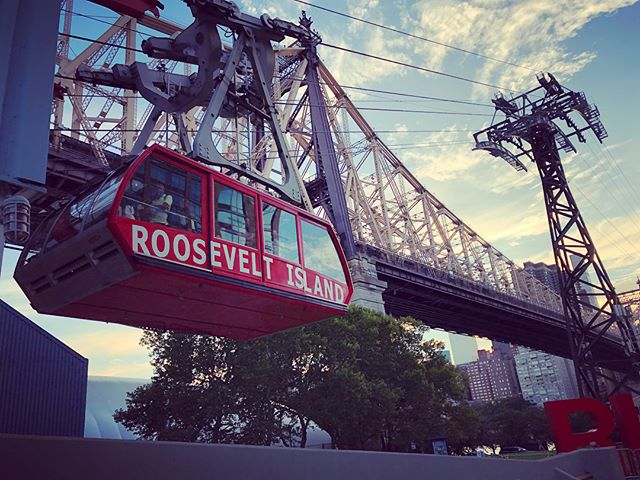 What a treat it was to ride the tram across the East River to Roosevelt Island. One of the cheap things to do in NYC and now one of my favorites for sure. #rooseveltisland #eastriver #franklindroosevelt #nyc #funthingstodo #ilovenyc #cheapthrills #island