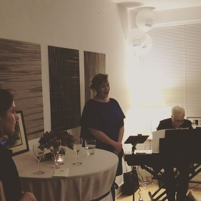 I had the honor to sing the Finlandia hymn at the Finnish Embassy's Independence Day party. #sibelius #jeansibelius #finlandia #bestillmysoul #honor #finland #independenceday #100 #finnish