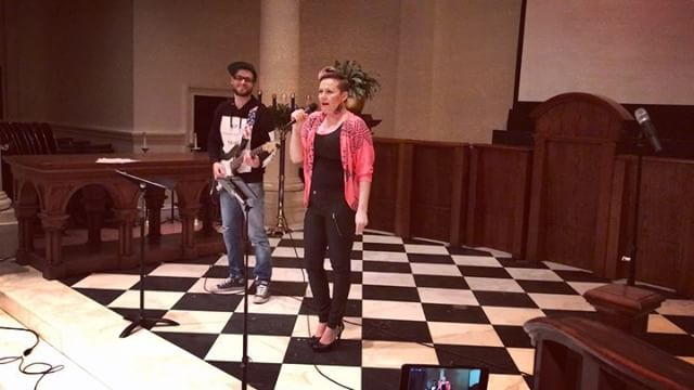 I was a huge Madonna fan growing up. This is a clip from a show I did with @jernejbervar in December. This is one of my all time favorite pop songs. @setnyc  @freedom_ladder #papadontpeach #singersongwriter #coversong #pop #electricguitar #guitar #voice #vocals #improv #solo #singer #indieartist #flashblack #fb #performance #show #nyc #musician #newyorkcity #finnishgirl #madonna #popmusic #80s #pink #fan #alltimefav #popsong
